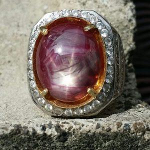 Cincin Mira Ruby Tanzania
